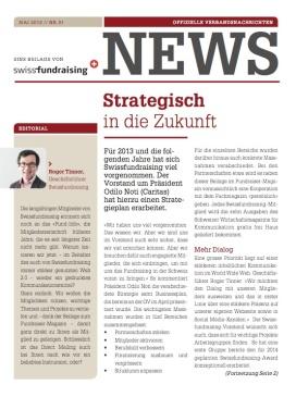 Titelbild_Swissfundraising NEWS-BeilageFRM 01-2013